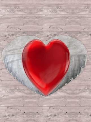 Плед флис 145х200 В форме сердца IQ Komfort 8043125