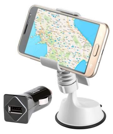 Держатель автомобильный InterStep зажим IS-HD-OHC01WHCH-000B20