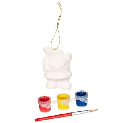 Набор для творчества Bondibon ёлочные украшения дед мороз 5.4*4.8*8см