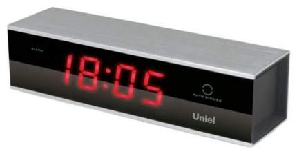 Часы-будильник UNIEL UTL-17RKM Черный Красный
