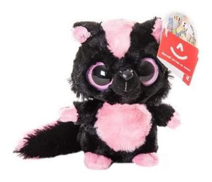Мягкая игрушка Aurora Юху и его друзья 65-106 Полосатый скунс, 12 см