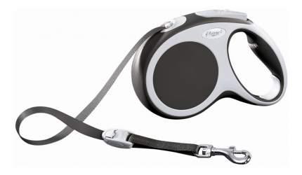 Поводок-рулетка flexi VARIO S, антрацит, до 15 кг, 5м