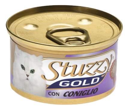 Консервы для кошек Stuzzy Gold, кролик, 24шт, 85г