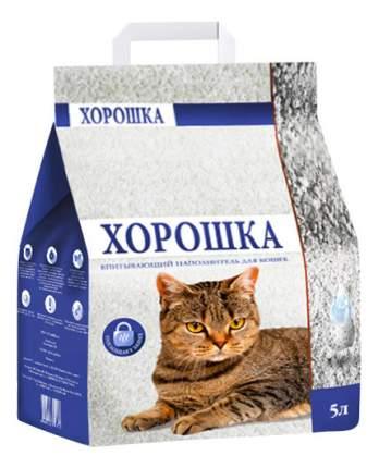Наполнитель для туалета ХОРОШКА впитывающий 5 л 2 кг
