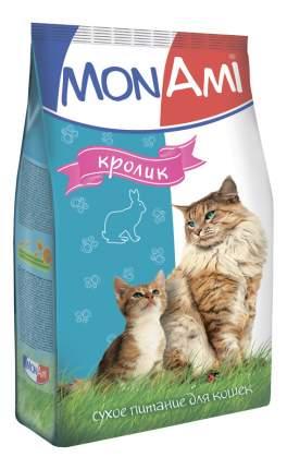 Сухой корм для кошек MonAmi, кролик, 10кг