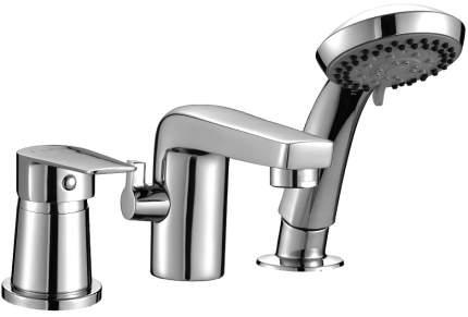 Смеситель для ванны на борт Rossinka Silvermix S35-39 хром