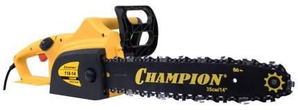 Электрическая цепная пила Champion 118-14