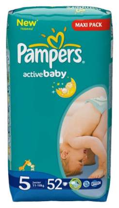 Подгузники Pampers Active Baby 5 (11-25 кг), 52 шт.