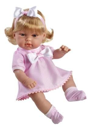 Кукла Arias Elegance в розовом платье с бантиком, 33 см
