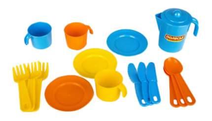 Набор посуды игрушечный Полесье Анюта на 3 персоны