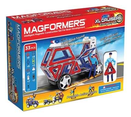 Конструктор магнитный Magformers My Набор Cruisers Службы Спасения