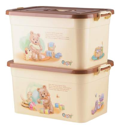 Ящик для хранения игрушек Полимербыт Polly, 15 л