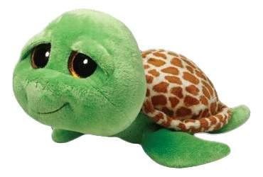 Мягкая игрушка TY Beanie Boos Черепашка Shellby (зеленая) 40 см