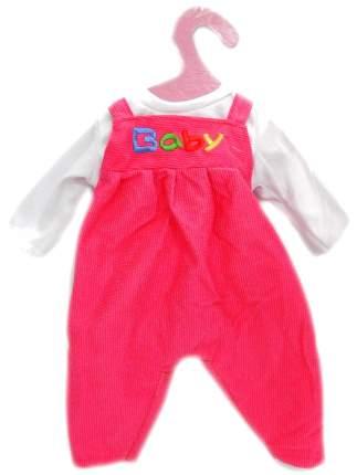 Одежда для кукол: комбинезон (красный/синий цвет), 25x1x38 см