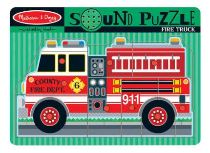 Пазл Melissa & Doug Пожарная машина
