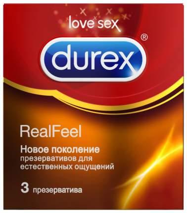 Презервативы DUREX Real Feel 3 шт
