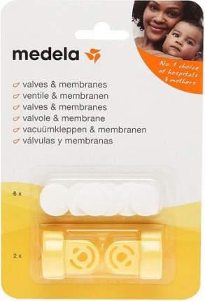 Набор для молокоотсоса MEDELA Клапан, 2 шт + мембрана, 6 шт (800.0727)