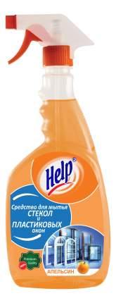 Универсальное чистящее средство Help апельсинс для пластиковых окон 0.75 л