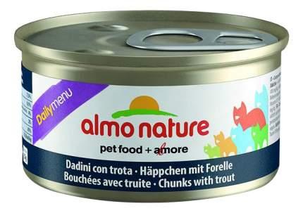 Корм для кошек Almo Nature Daily Menu, утка, 1шт, 85г