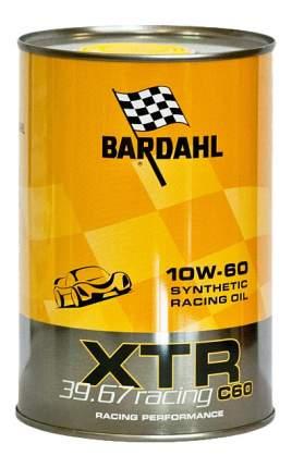 Моторное масло Bardahl XTR C60 Racing 10W-60 1л