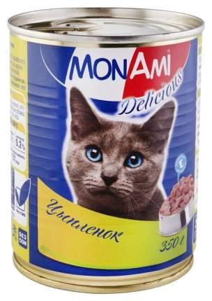 Консервы для кошек MonAmi Delicious, цыпленок, 350г