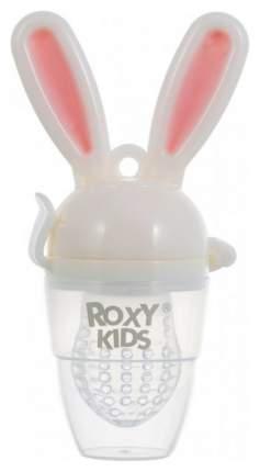 Ниблер для прикорма Roxy-kids  BUNNY TWIST розовый