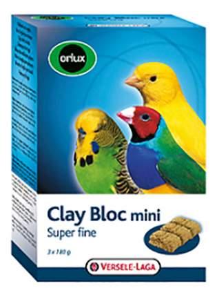 Камень для заточки клюва Versele-Laga Orlux Clay Bloc mini для птиц, 540 г, 3 шт