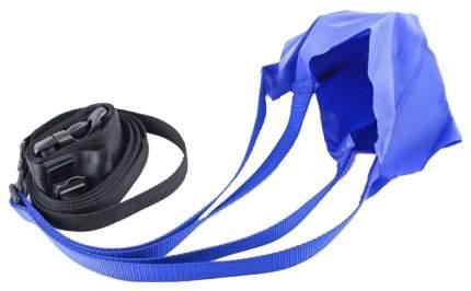 Тормозной пояс с парашютом для плавания StrechCordz Drag Belt голубой M