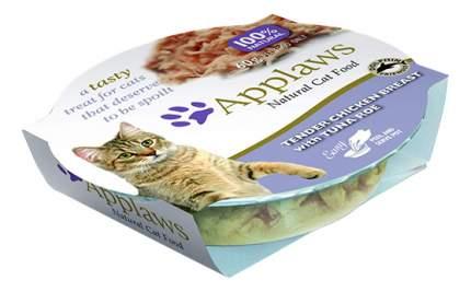 Консервы для кошек Applaws, отборная куриная грудка с икрой тунца, 60г