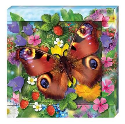 Аппликация из картона Клеvер Радужная бабочка