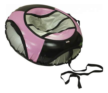 Тюбинг детский Belon Тент серо-черно-розовый 85 см