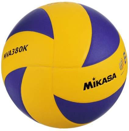 Волейбольный мяч Mikasa MVA380K №5 blue/yellow