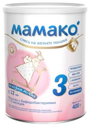 Смесь на козьем молоке Мамако 3 от года 400 г