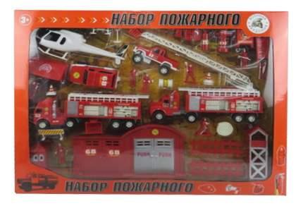 Набор пожарного в кейсе Tm igr Пожарные