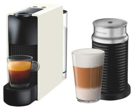 Кофемашина капсульного типа Nespresso Essenza Mini Bundle C30 Белая