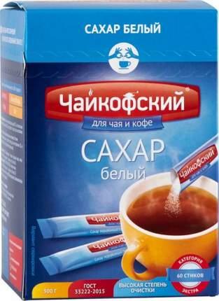 Сахар порционный Чайкофский в стиках белый 5 г 60 штук