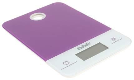 Весы кухонные BBK KS109G Белые; Фиолетовые