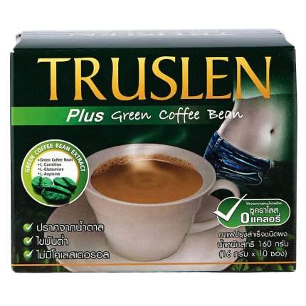 Напиток кофейный Truslen plus green coffee bean растворимый 16 г 10 штук