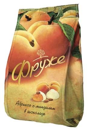 Конфеты Фруже абрикос с миндалем в белом шоколаде 380 г