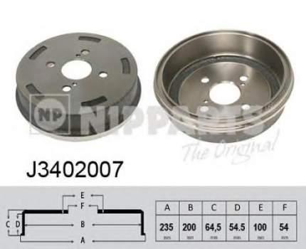 Барабан тормозной Nipparts J3402007