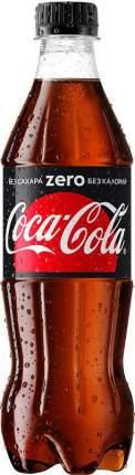 Напиток газированный Coca-Cola zero пластик 0.5 л