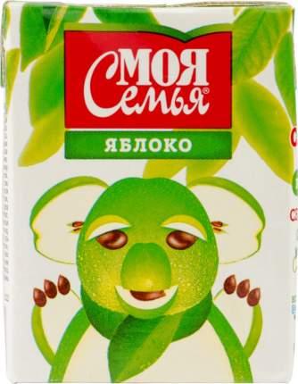 Нектар Моя Семья яблоко 0.2 л