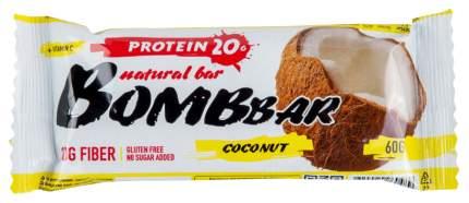 Протеиновый батончик Bombbar Protein Bar 60 г кокос