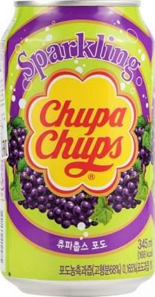 Напиток безалкогольный сильногазированный Chupa Chups виноград жестяная банка 0.345 л