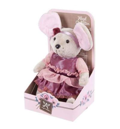 Мягкая игрушка Angel Мышка шарнирная lady mouse вишенка