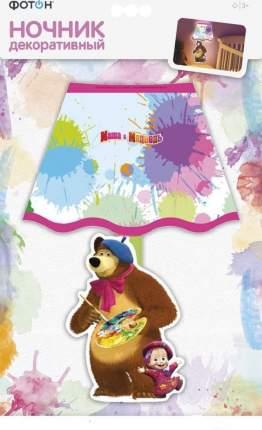 Ночник декоративный маша и медведь художники фотон 22966