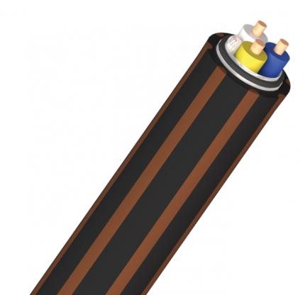 Кабель межблочный аудио AudioQuest Mackenzie 50m balanced black/brown PVC