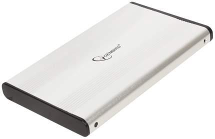 Внешний карман (контейнер) для HDD Gembird EE2-U2S-5-S USB 2,0 SATA серебристый