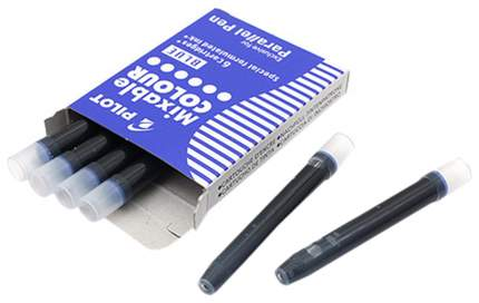 Сменные картриджи Pilot 6 шт. IC-P3-S6 (L)/01751 Синий