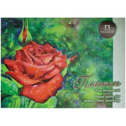 """Планшет для акварели """"Алая роза"""", 20 листов, А3"""